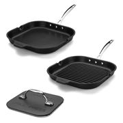 Chef's Design - Essential Frypan & Grill Set with Press