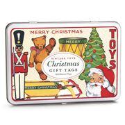 Cavallini - Vintage Christmas Toys Gift Tags