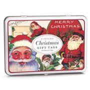 Cavallini - Vintage Santa Christmas Gift Tags