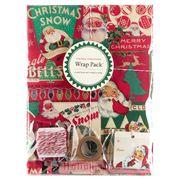 Cavallini - Vintage Christmas Wrap Pack