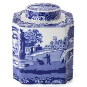 Spode - Blue Italian Tea Caddy