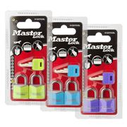 Master Lock - Colour Padlock Set 2pce