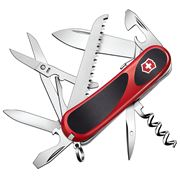 Victorinox - Delemont Evogrip S17 Red Swiss Army Knife