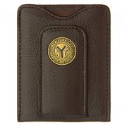 Tokens & Icons - New York City Token Leather Wallet Brown