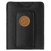 Tokens & Icons - Indian Head Penny Leather Wallet Black