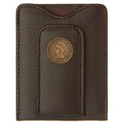Tokens & Icons - Indian Head Penny Leather Wallet Brown