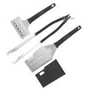 Scanpan - Spectrum Black Barbecue Tool Set 3pce