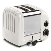 Dualit - NewGen Two Slice Toaster DU02 Canvas White
