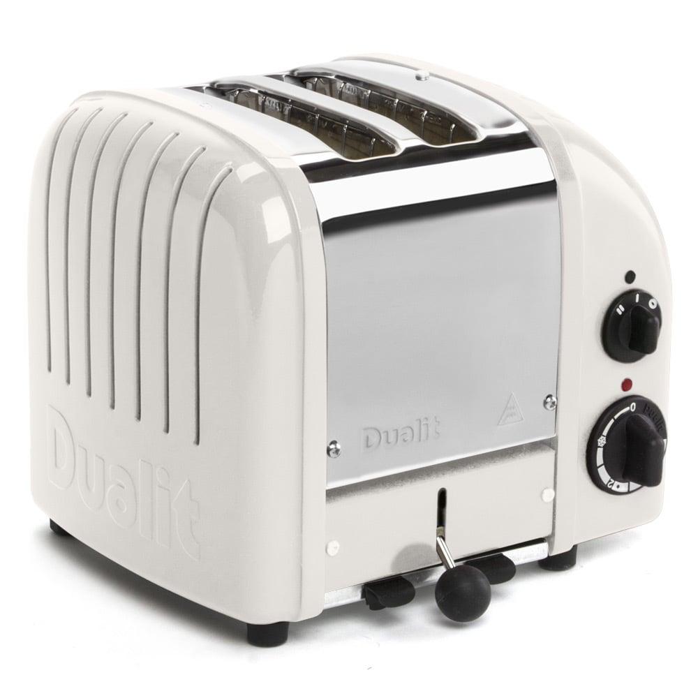 Dualit Canvas White 2 Slice NewGen Toaster