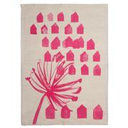 Zed Home - Floragraphica Tea Towel Pink