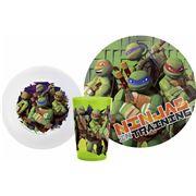 Teenage Mutant Ninja Turtles - Meal Time Set 3pce