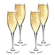 Bormioli Rocco - Premium Champagne Flute Set 4pce