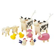 Pintoy - Farm Animals Set 10pce