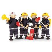 Pintoy - Fire Fighters & Accessories Set 11pce