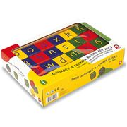 Pintoy - Alphabet & Number Block Set 24pce
