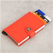 Secrid - Crisple Leather Coral Mini Wallet
