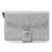Secrid - Glamour Leather Silver Mini Wallet
