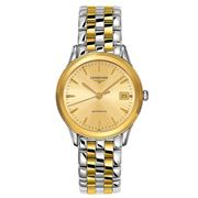 Longines - Flagship Gold Dial Gold & S/Steel Watch 35.6mm