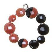 Antica Murrina - Audrey Black & Coral Bracelet
