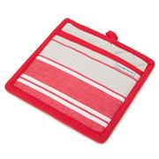Davis & Waddell - Red San Diego Stripe Pot Mitt