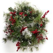 Christmas - WDS 60cm Wreath P/Cone/Bry