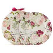 Ashdene - Vintage Roses Plate Set 2pce