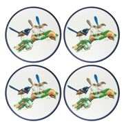 Ashdene - Birds of Australia Blue Wren Placemat Set 4pce