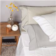 Bambi - Tencel Touch White King Sheet Set