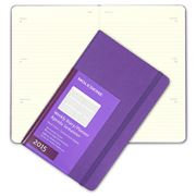 Moleskine - 2015 Weekly Hardcover Large Violet Diary