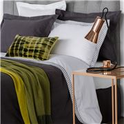 Linen & Moore - Belle Sheet Set Charcoal King Size