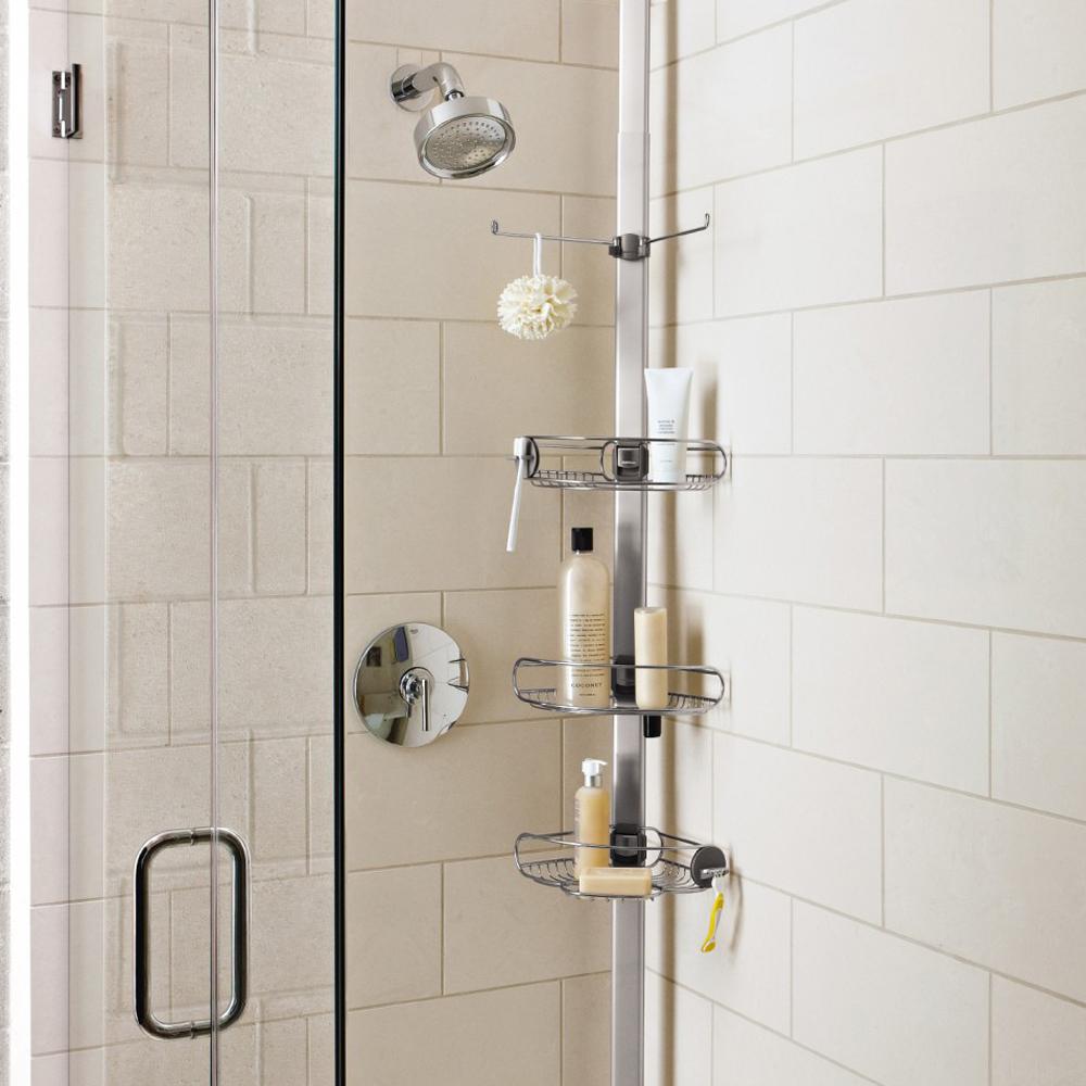 Villeroy /& Boch Suction Shower Caddy Corner Shelf