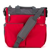 SkipHop - Duo Signature Diaper Bag Red