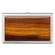 Davin & Kesler - Steel & Solid Cocobolo Business Card Case