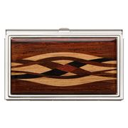 Davin & Kesler - Steel & Cocobolo Business Card Case