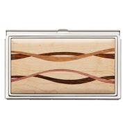 Davin & Kesler - Steel & Maple Business Card Case