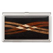 Davin & Kesler - Steel & Ebony Business Card Case