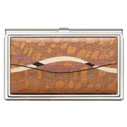 Davin & Kesler - Steel & Lacewood Business Card Case