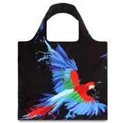LOQI - Anima Parrot & Butterfly Shopping Bag