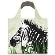 LOQI - Anima Zebra & Giraffe Reusable Bag