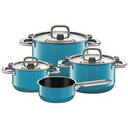 Silit - Nature Colours Mountain Blue Cookware Set 4pce