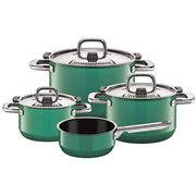 Silit - Nature Colours Ocean Green Cookware Set 4pce