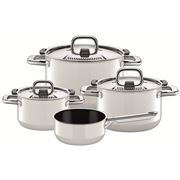 Silit - Nature Colours Polar White Cookware Set 4pce