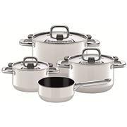 Silit - Nature Colours Polar White Cookware Set 4pce