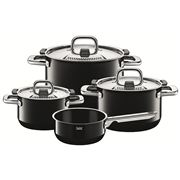 Silit - Nature Colours Black Cookware Set 4pce