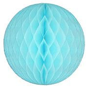 Contents Giftware - Light Blue Paperfold Ball 30cm