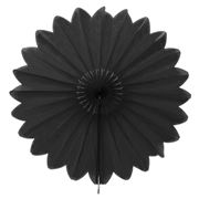 Contents Giftware - Honeycomb Paperfold Fan Black 68cm