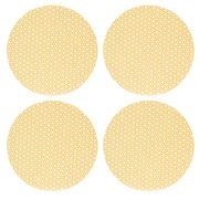 Madras - Atelier Yellow Placemat Set 4pce