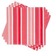 Madras - Natalie Stripe Napkin Set 4pce