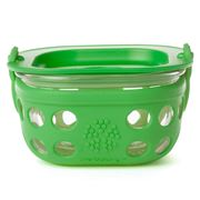 LifeFactory - Grass Green Glass Food Storage Container 240ml