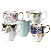 Royal Albert - 100 Years 1900-1940 Mug Set 5pce